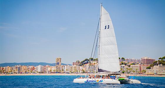 Catamaran cruise - Ausflug - Lloret de mar