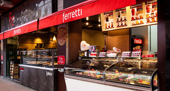 Ferretti Restaurant Pizza