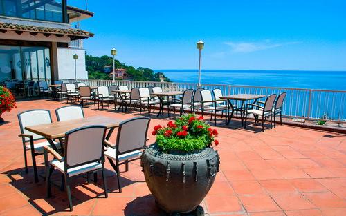 Hotel Roger de Flor Ausblick über Lloret de Mar
