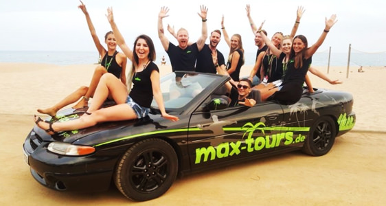 Maxtours Reiseveranstalter Lloret de Mar