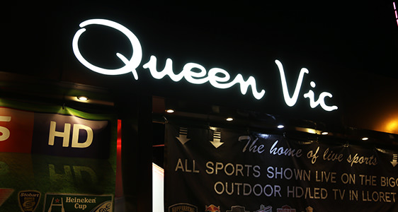 Bar - Queen Vic - Lloret de Mar